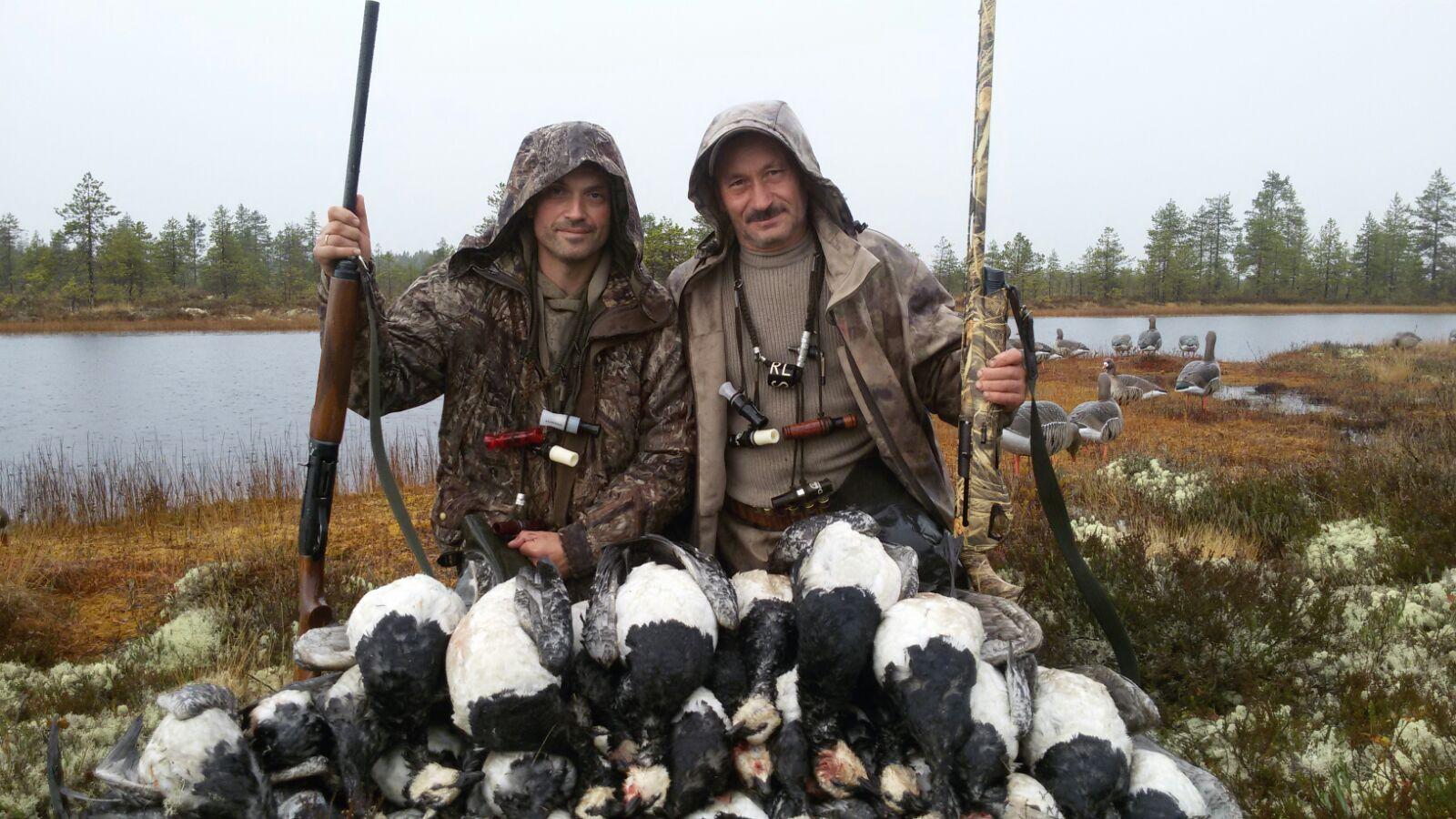 Новинка! Охота на гуся с манками School Hunter