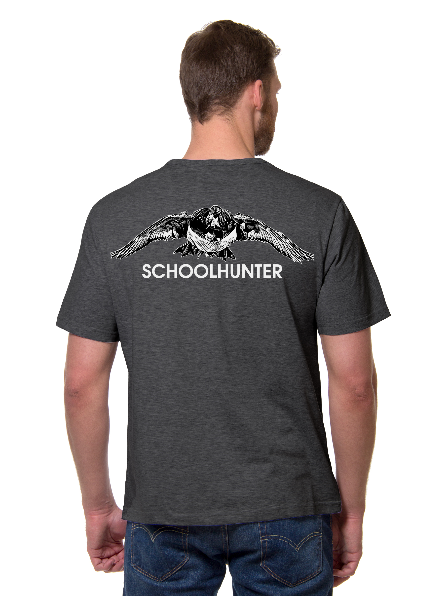 """Фото № 3 Футболка """" SCHOOLHUNTER"""" - купить по доступным ценам"""