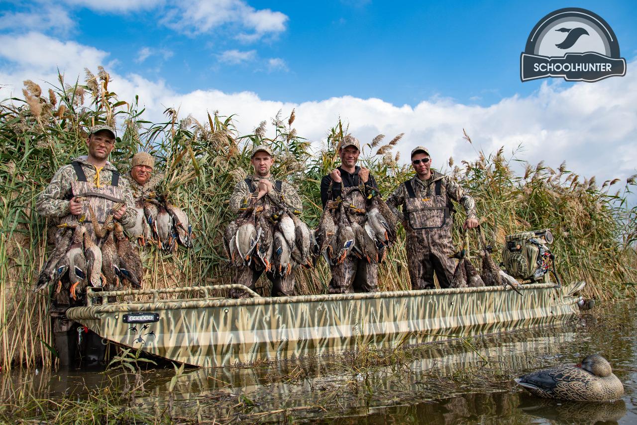 Охота на утку в Ростовской области 2019