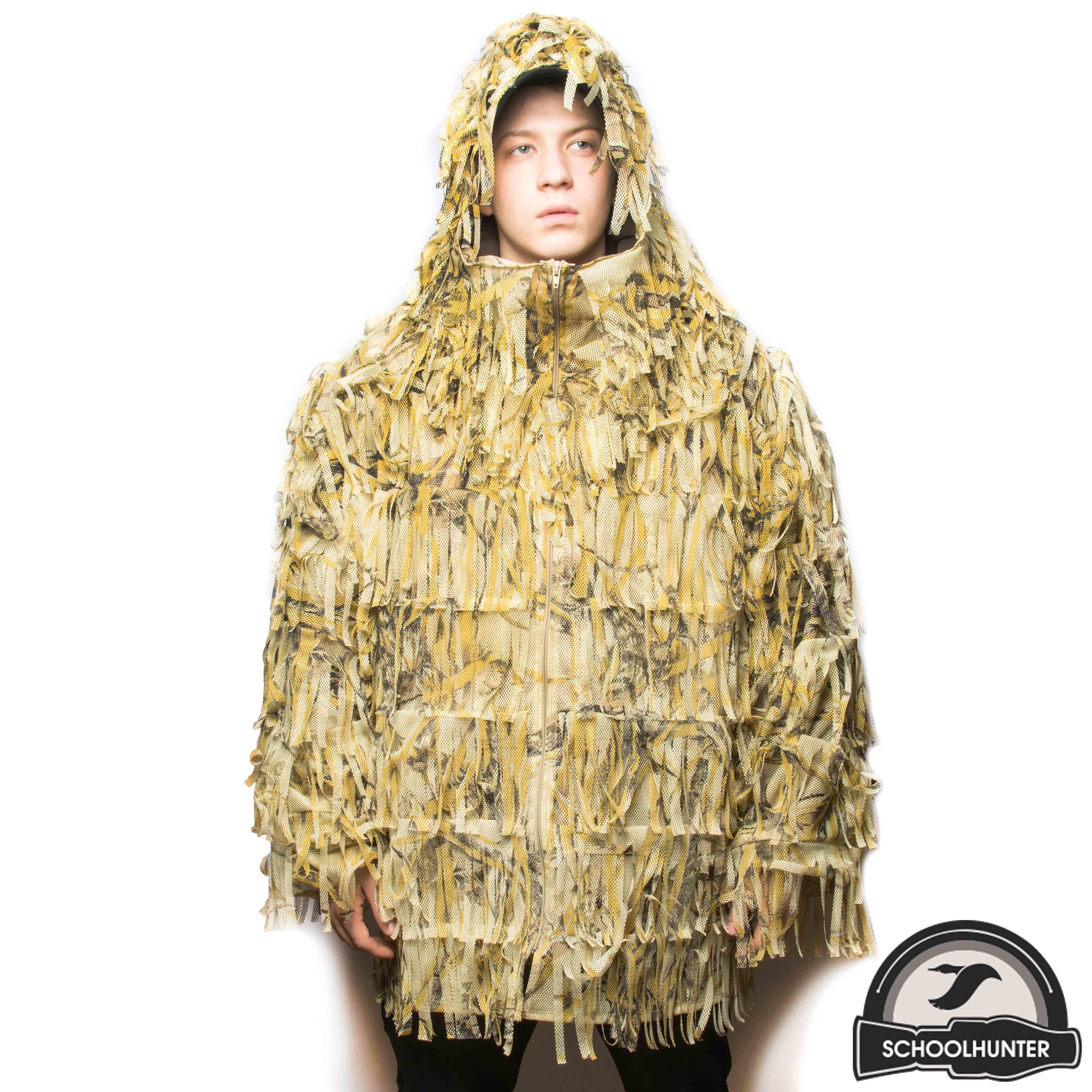 Фото № 2 Маскировочная куртка (желт.) - купить по доступным ценам