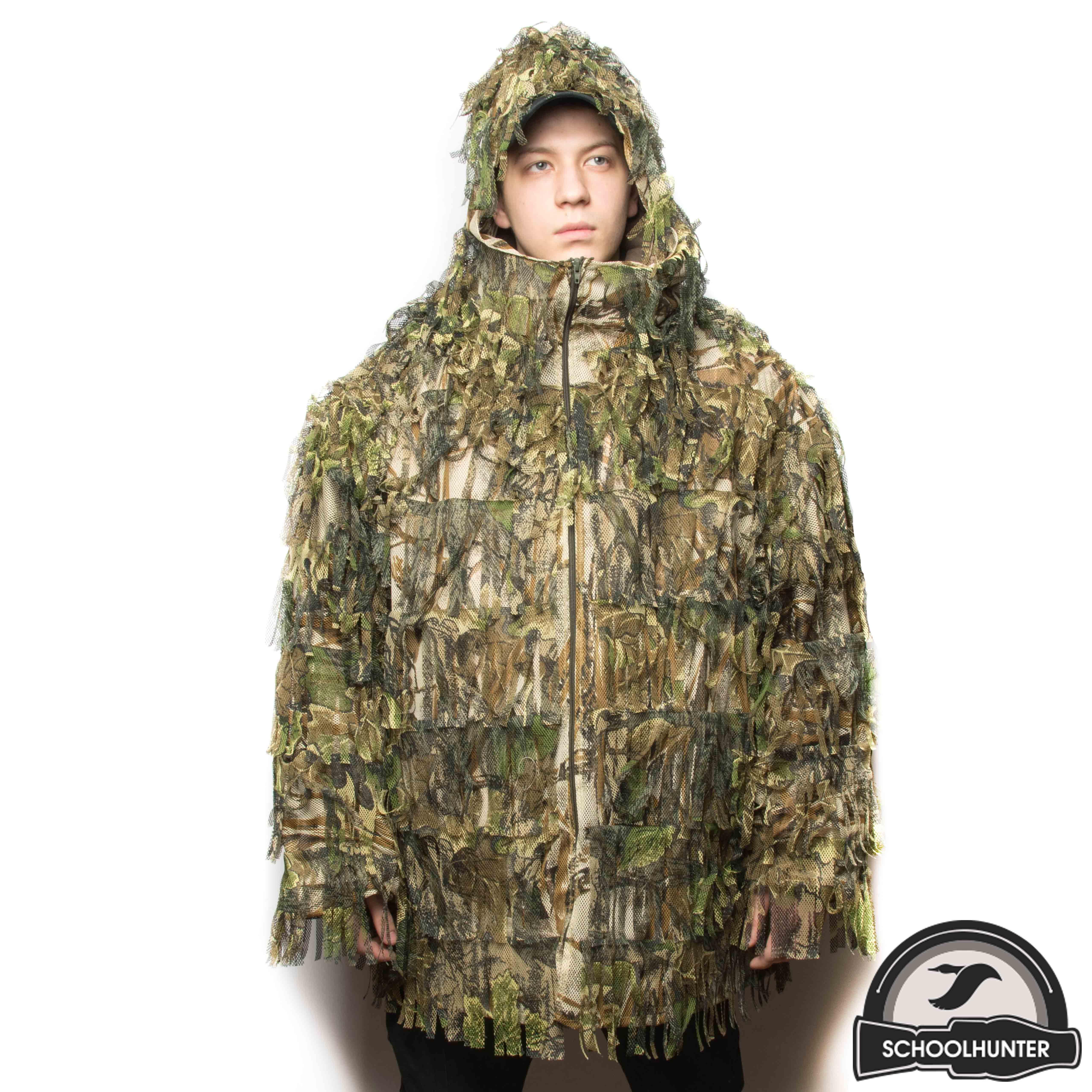 Фото № 2 Маскировочная куртка (корич-зел) - купить по доступным ценам