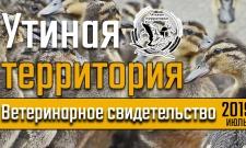 """Проект """"Утиная территория"""". Ветеринарное свидетельство."""